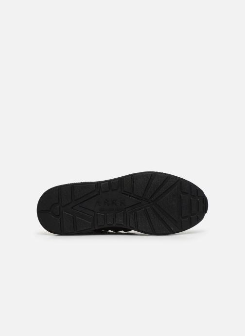 Sneaker Arkk Copenhagen Raven Mesh M schwarz ansicht von oben