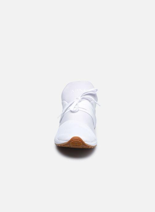 Sneaker ARKK COPENHAGEN Raven Mesh M weiß schuhe getragen