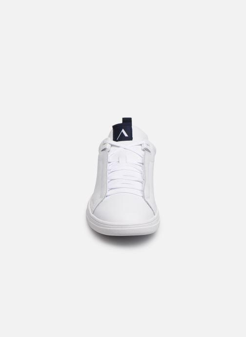 Baskets ARKK COPENHAGEN Uniklass Leather Blanc vue portées chaussures