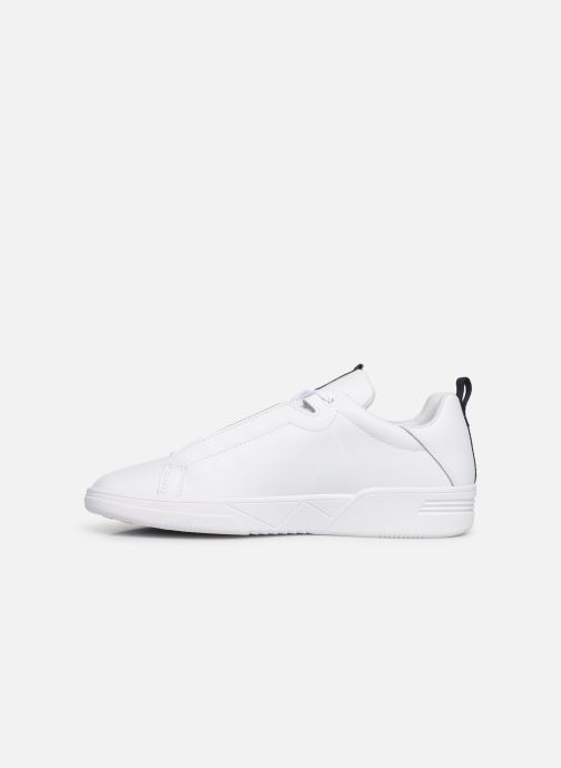 Baskets ARKK COPENHAGEN Uniklass Leather Blanc vue face