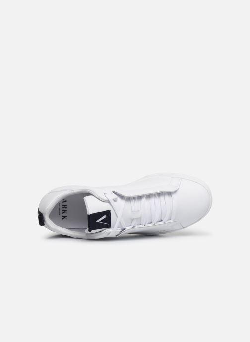 Sneakers Arkk Copenhagen Uniklass Leather Bianco immagine sinistra