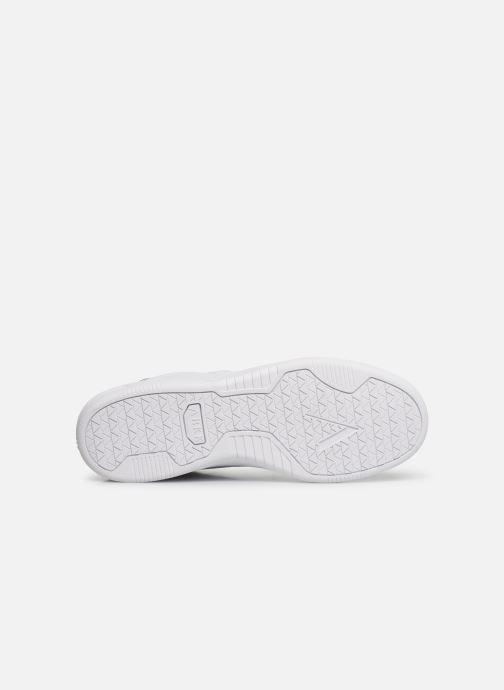 Baskets ARKK COPENHAGEN Uniklass Leather Blanc vue haut