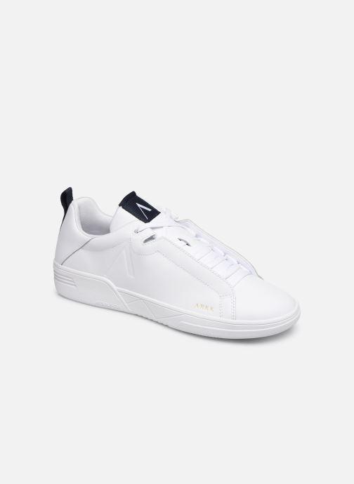 Baskets ARKK COPENHAGEN Uniklass Leather Blanc vue détail/paire