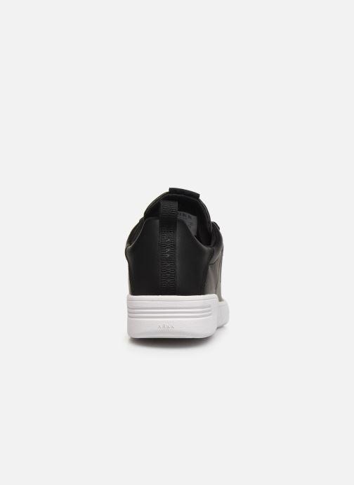 Deportivas Arkk Copenhagen Uniklass Leather Negro vista lateral derecha