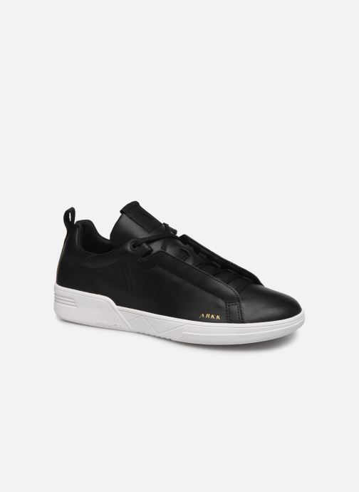 Baskets ARKK COPENHAGEN Uniklass Leather Noir vue détail/paire