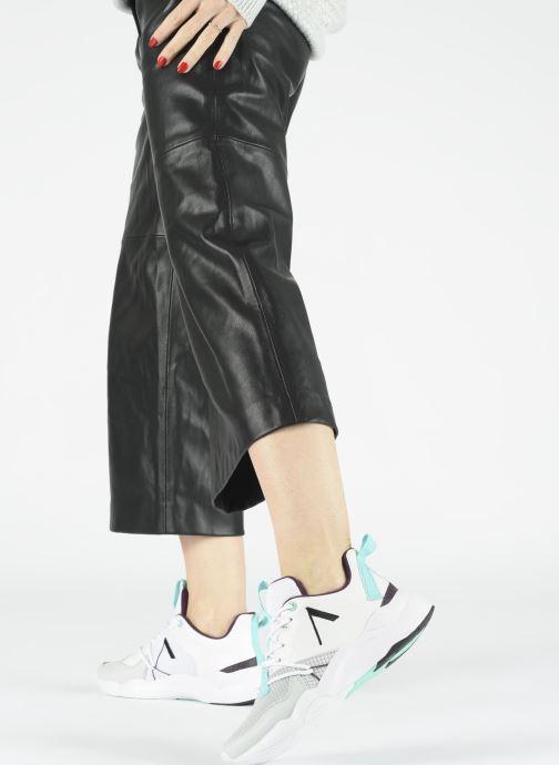 Sneaker ARKK COPENHAGEN Asymtrix Mesh W grau ansicht von unten / tasche getragen
