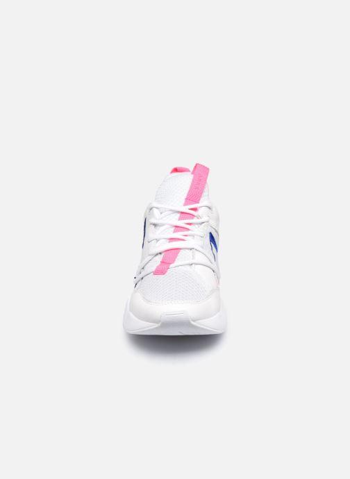 Baskets Arkk Copenhagen Asymtrix Mesh W Blanc vue portées chaussures