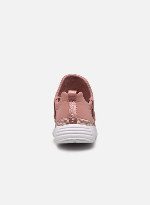 Sneakers ARKK COPENHAGEN Raven Mesh W Roze rechts