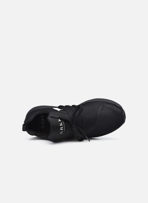 Sneakers Arkk Copenhagen Raven Mesh W Zwart links