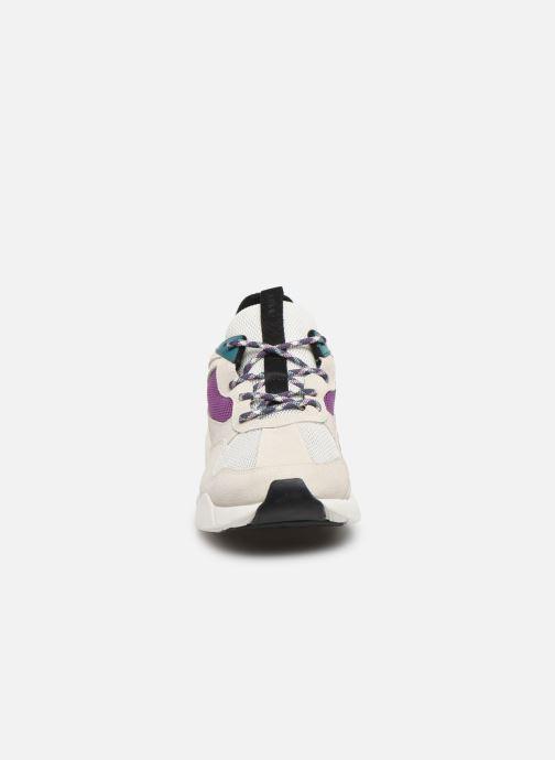 Baskets Arkk Copenhagen Kanetyk Suede W Beige vue portées chaussures