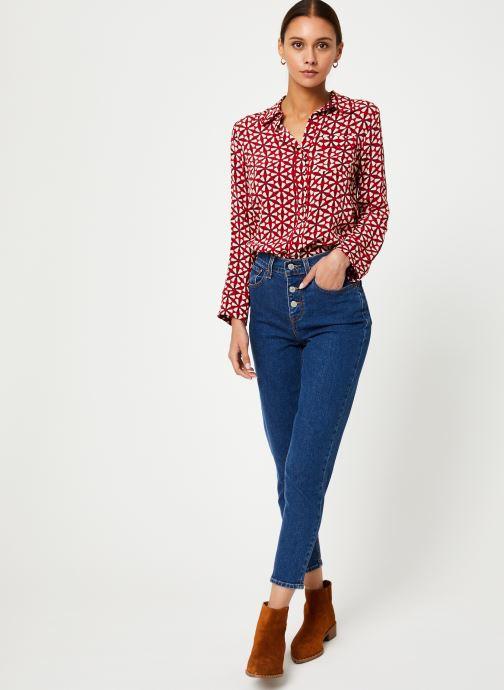 Vêtements Stella Forest CHEMISE LARGE LOTUS Rouge vue bas / vue portée sac