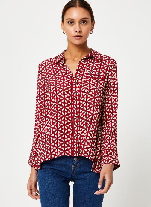Vêtements Stella Forest CHEMISE LARGE LOTUS Rouge vue droite