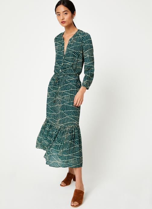 Vêtements Stella Forest CHEMISE FRONCEE HOJA Vert vue bas / vue portée sac