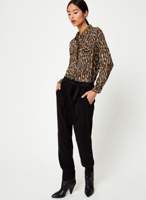 Vêtements Stella Forest COMBI-PANTALON TIGRE Noir vue bas / vue portée sac