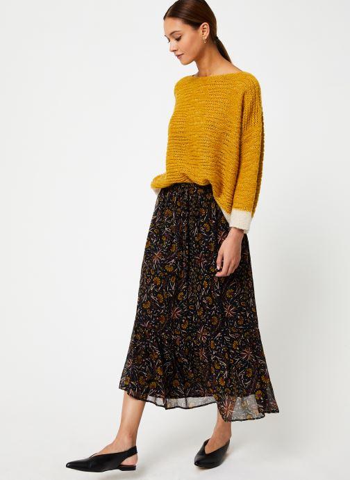 Vêtements Stella Forest JUPE MIDI FLORE Multicolore vue bas / vue portée sac