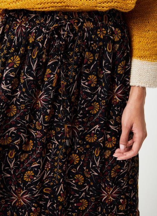 Vêtements Stella Forest JUPE MIDI FLORE Multicolore vue face
