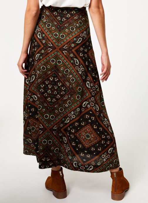 Vêtements Stella Forest JUPE BOUTONNEE MARTHA Vert vue portées chaussures