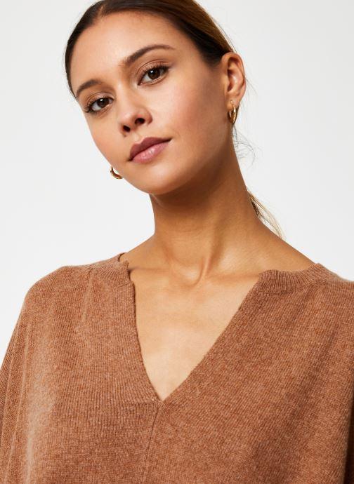 Vêtements Stella Forest PULL LARGE CAROL Marron vue face