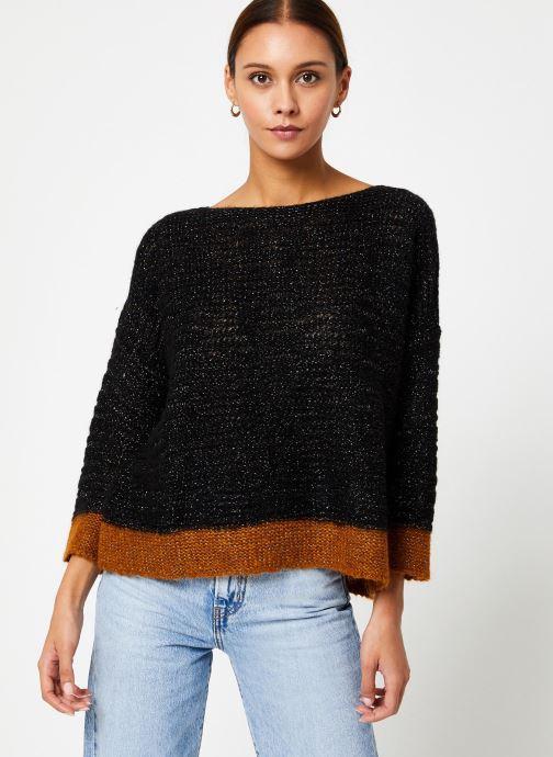 Vêtements Stella Forest PULL BATEAU DOURO Noir vue détail/paire