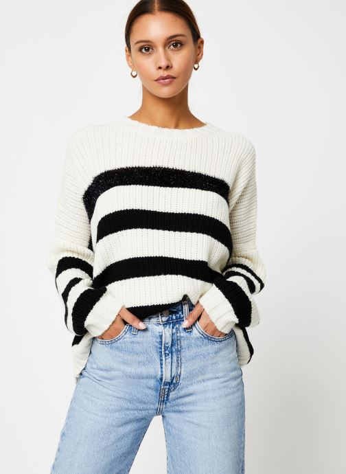 Kleding Stella Forest PULL BOUTON PAUL Wit detail