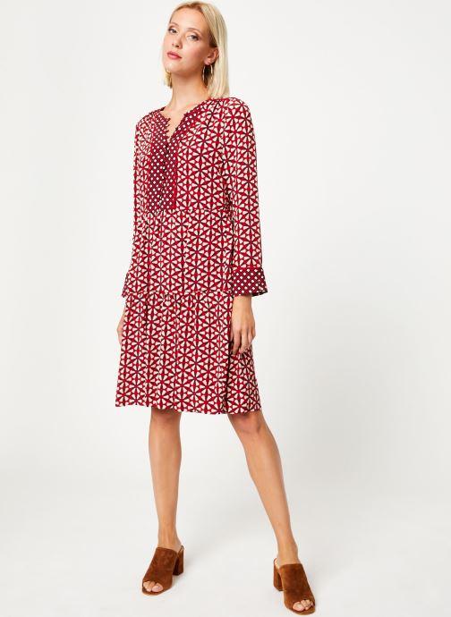 Vêtements Stella Forest ROBE COURTE LOTUS Rouge vue bas / vue portée sac