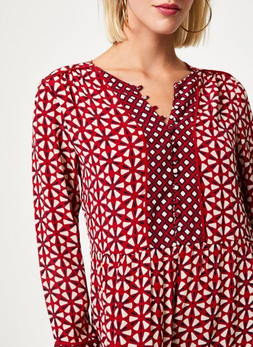 Vêtements Stella Forest ROBE COURTE LOTUS Rouge vue face