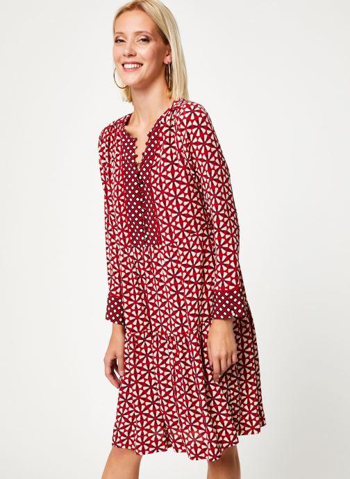 Vêtements Stella Forest ROBE COURTE LOTUS Rouge vue droite