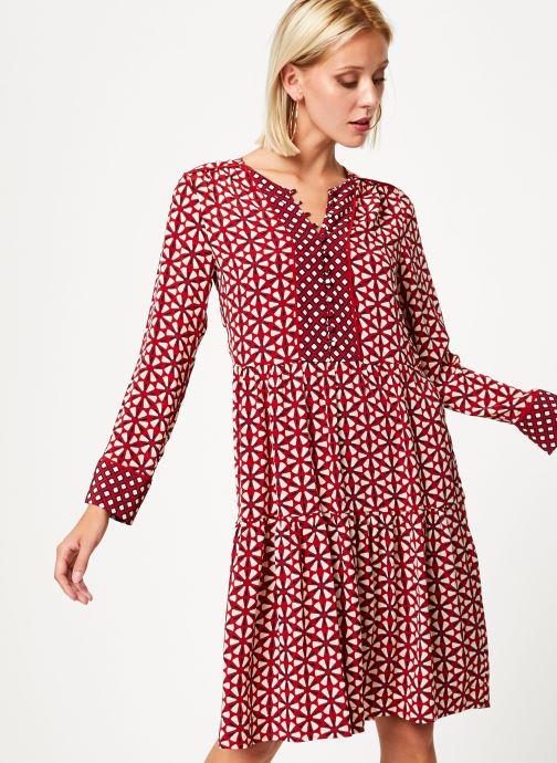 Vêtements Stella Forest ROBE COURTE LOTUS Rouge vue détail/paire