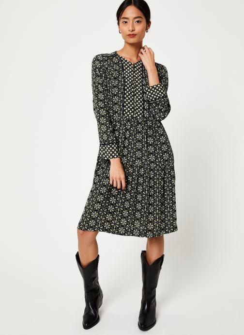 Vêtements Stella Forest ROBE COURTE LOTUS Vert vue bas / vue portée sac