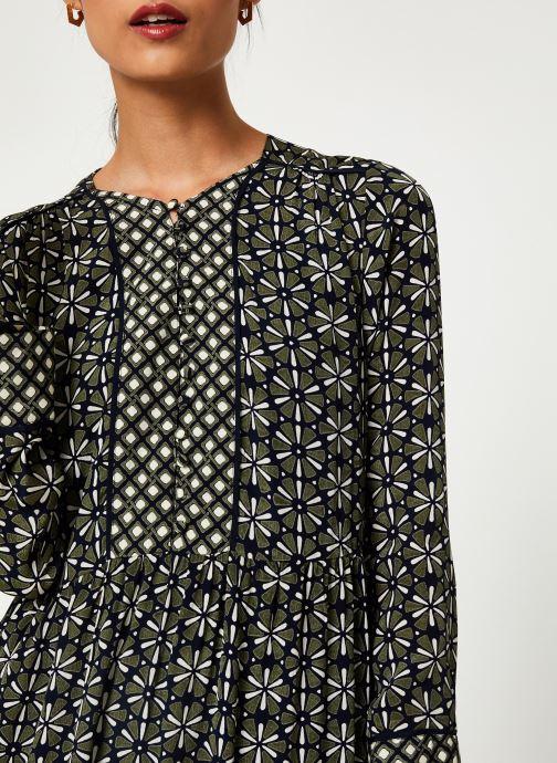 Vêtements Stella Forest ROBE COURTE LOTUS Vert vue face