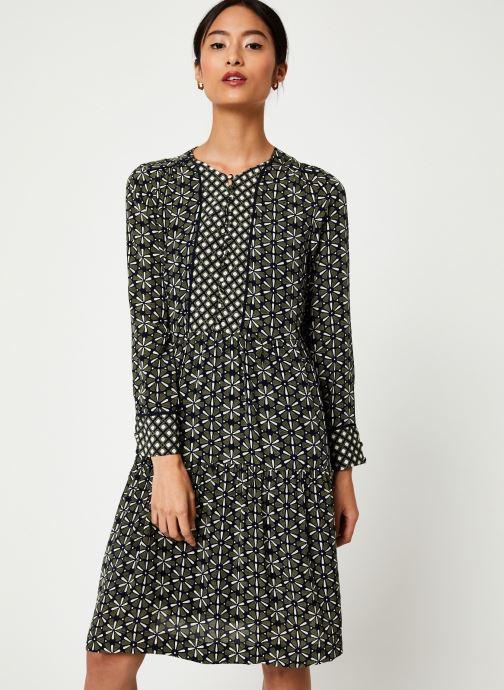 Vêtements Stella Forest ROBE COURTE LOTUS Vert vue détail/paire