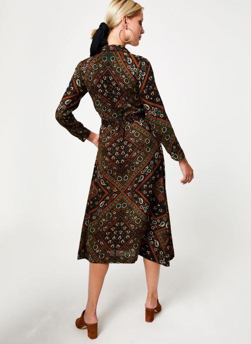 Vêtements Stella Forest ROBE CHEMISE MARTHA Vert vue portées chaussures