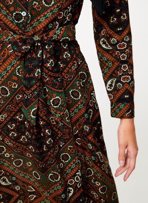 Vêtements Stella Forest ROBE CHEMISE MARTHA Vert vue face