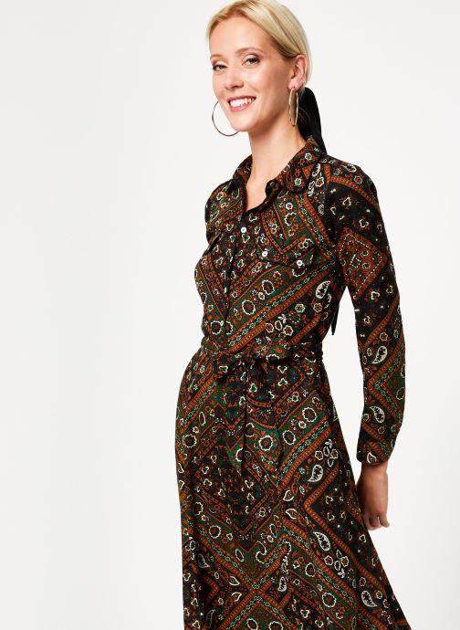 Vêtements Stella Forest ROBE CHEMISE MARTHA Vert vue droite