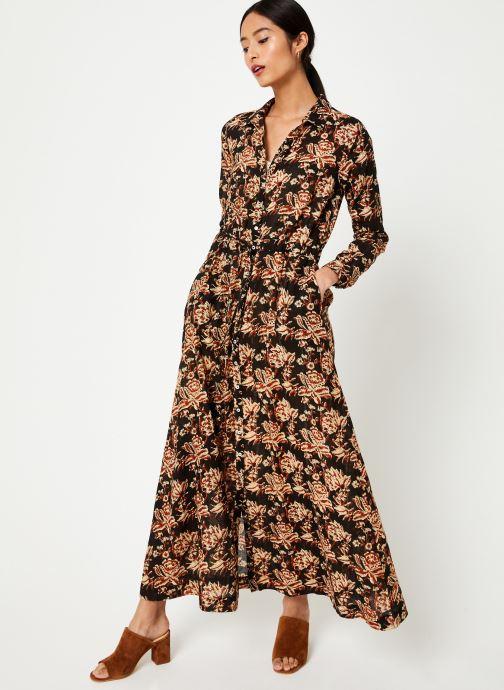 Vêtements Stella Forest ROBE LONGUE NICOLE Noir vue bas / vue portée sac