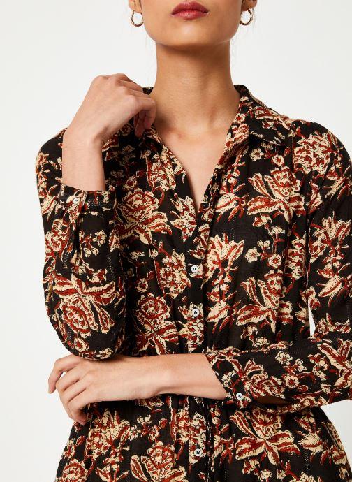 Vêtements Stella Forest ROBE LONGUE NICOLE Noir vue face