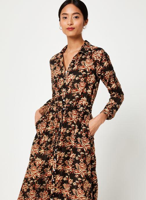 Vêtements Stella Forest ROBE LONGUE NICOLE Noir vue droite