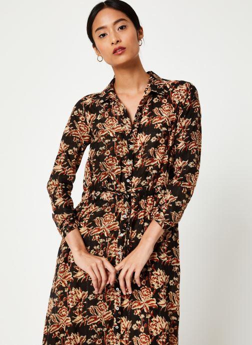 Vêtements Stella Forest ROBE LONGUE NICOLE Noir vue détail/paire
