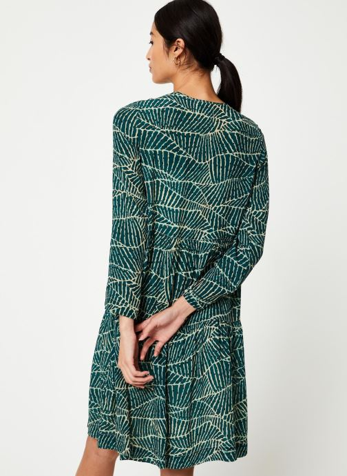 Vêtements Stella Forest ROBE COURTE HOJA Vert vue portées chaussures