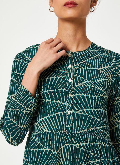 Vêtements Stella Forest ROBE COURTE HOJA Vert vue face