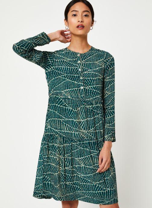 Vêtements Stella Forest ROBE COURTE HOJA Vert vue droite