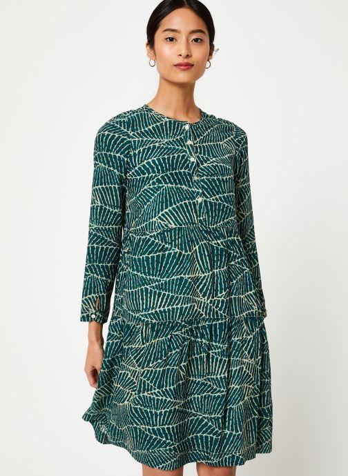 Vêtements Stella Forest ROBE COURTE HOJA Vert vue détail/paire