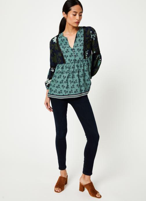 Vêtements Stella Forest BLOUSE FRONCEE KELLY Vert vue bas / vue portée sac