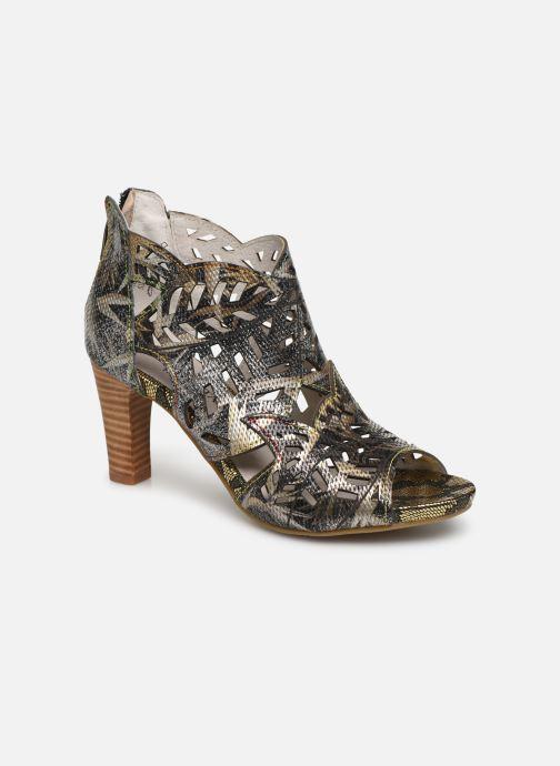 Boots en enkellaarsjes Laura Vita Alcbaneo 049 Zwart detail