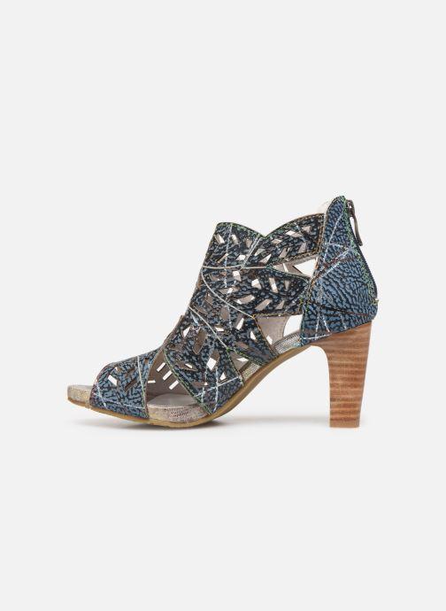 Bottines et boots Laura Vita Alcbaneo 0492 Bleu vue face
