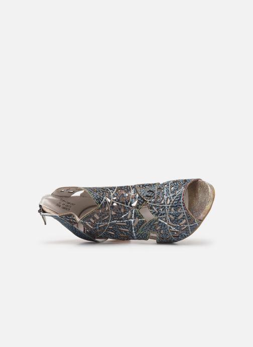 Bottines et boots Laura Vita Alcbaneo 0492 Bleu vue gauche