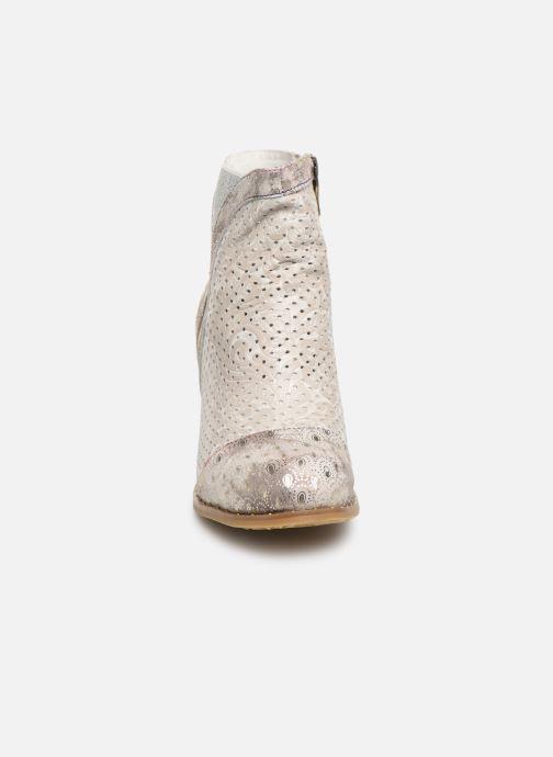 Bottines et boots Laura Vita Ancnao 139 Beige vue portées chaussures