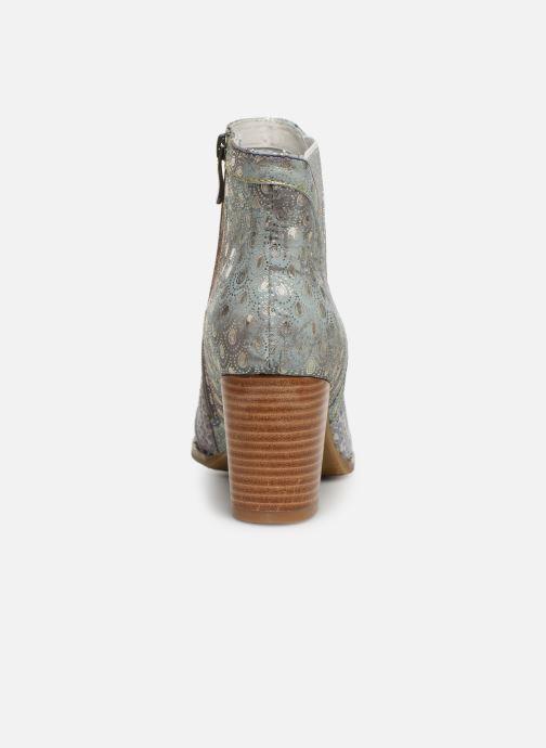 Bottines et boots Laura Vita Ancnao 139 Gris vue droite