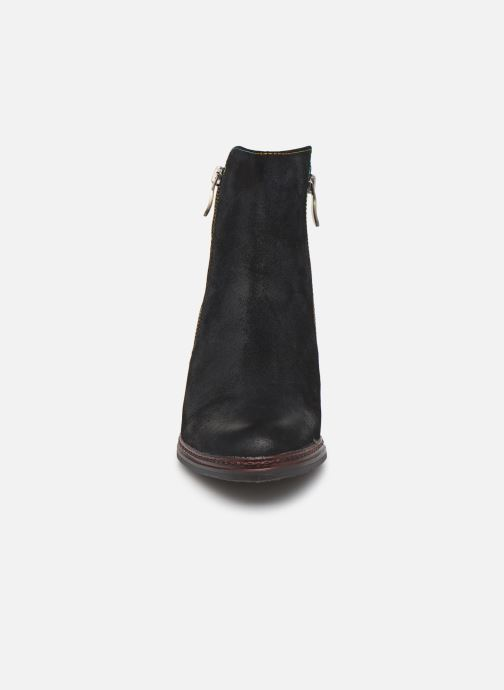 Bottines et boots Laura Vita Angela 14 Noir vue portées chaussures