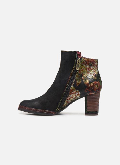 Bottines et boots Laura Vita Angela 14 Noir vue face